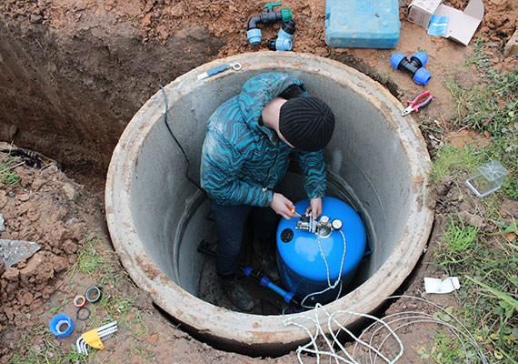 Водоснабжение из колодца в Домодедовском районе